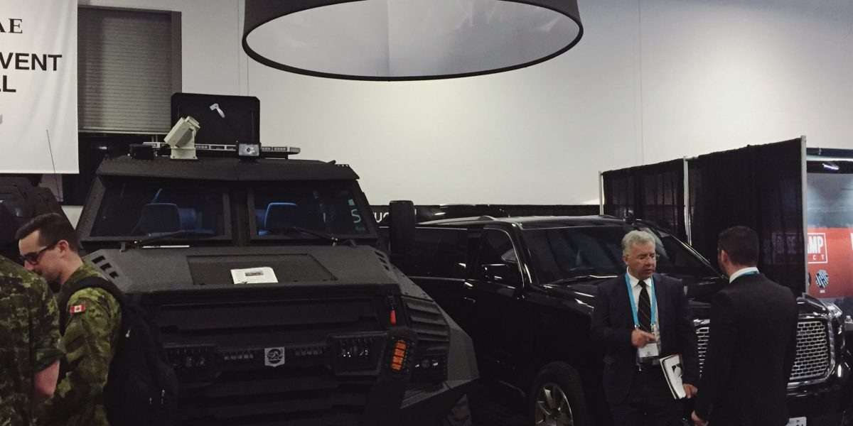 INKAS Armored at CANSEC