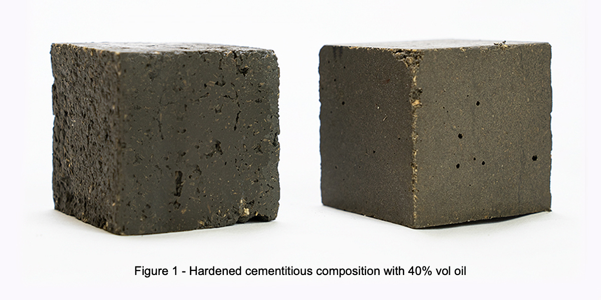 INKAS® develops oil-containing concrete for environmental remediation
